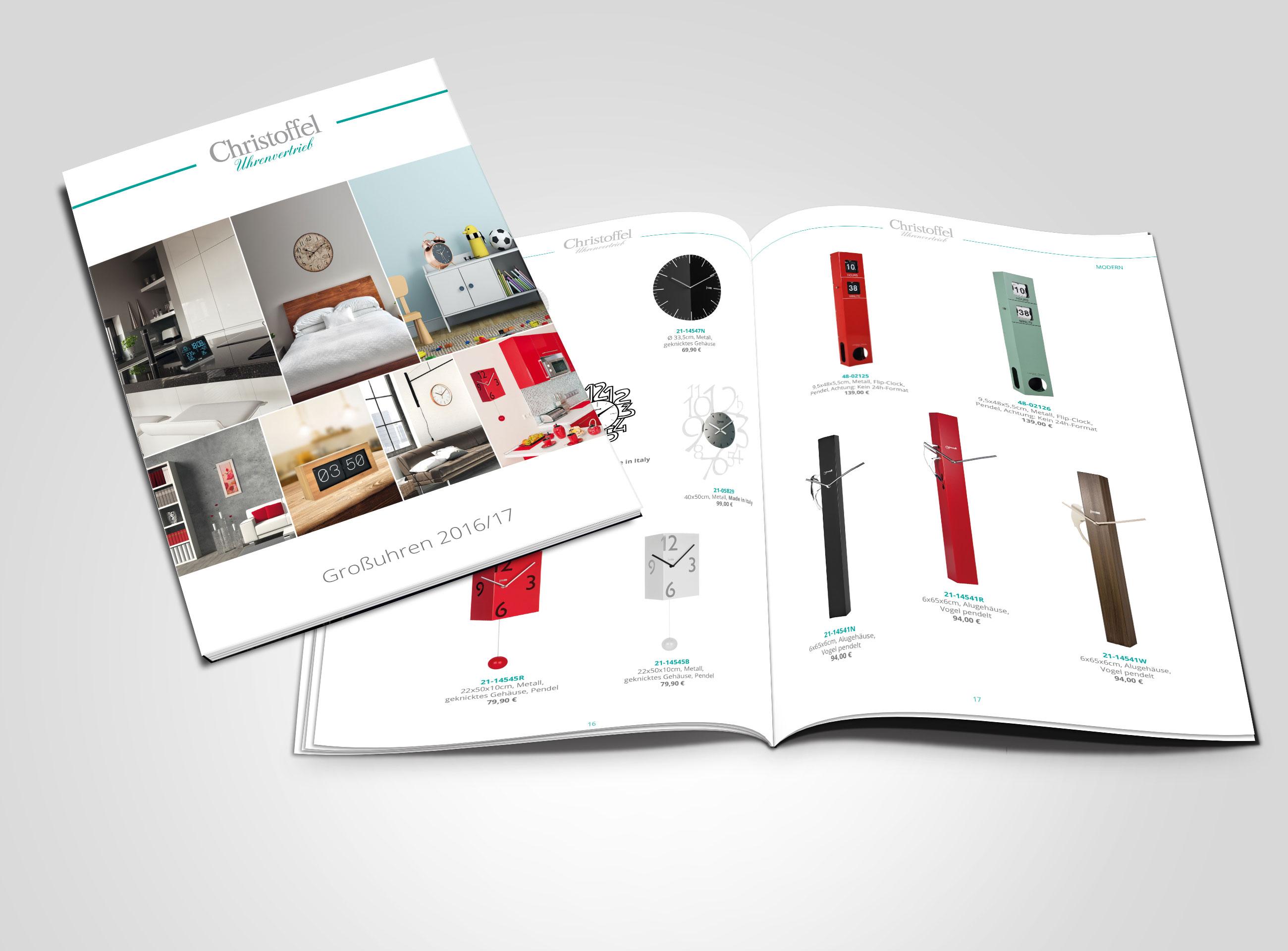 der neue gro uhren katalog von christoffel christoffel. Black Bedroom Furniture Sets. Home Design Ideas
