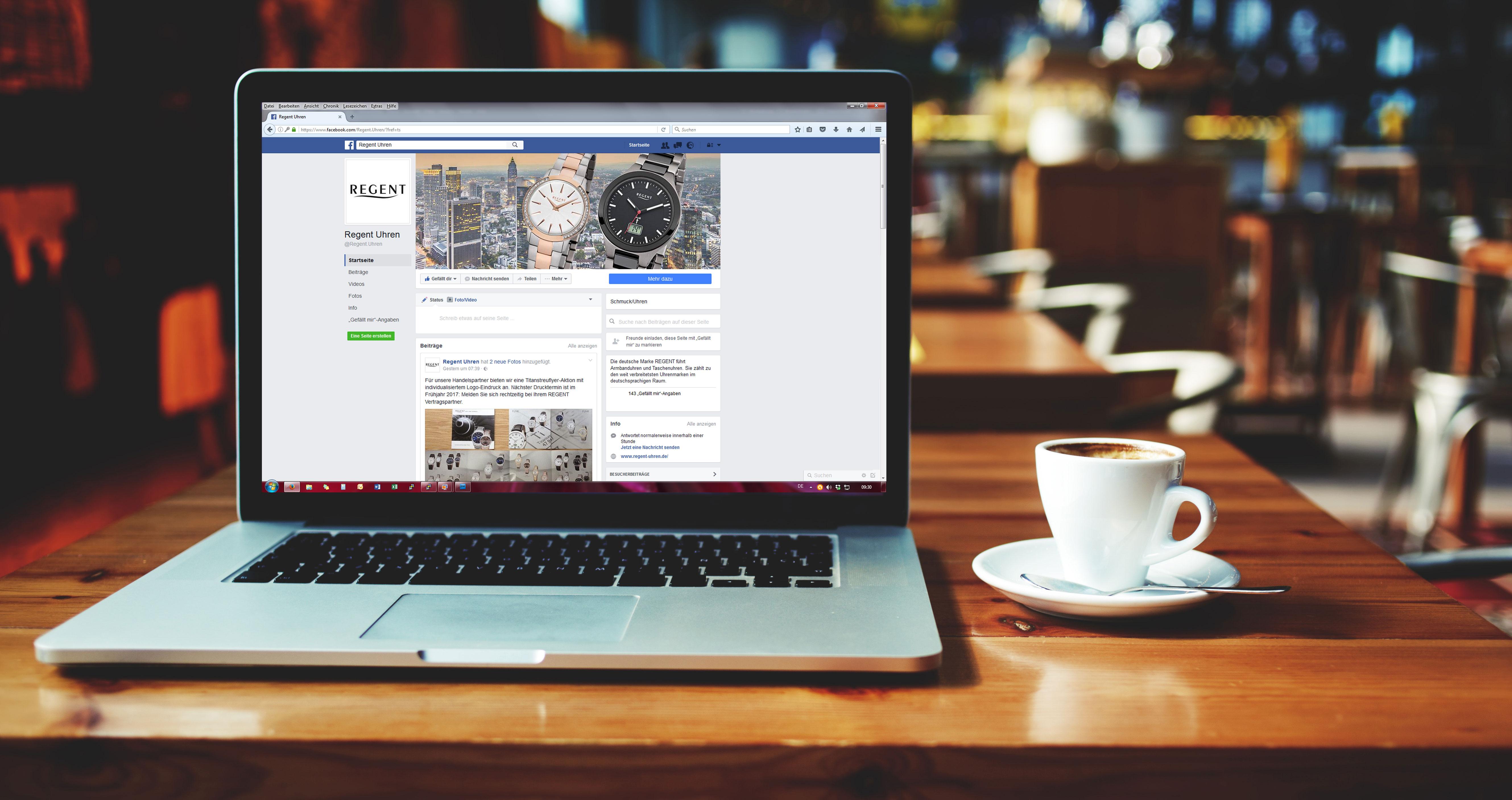REGENT Uhren – Jetzt Auch Bei Facebook