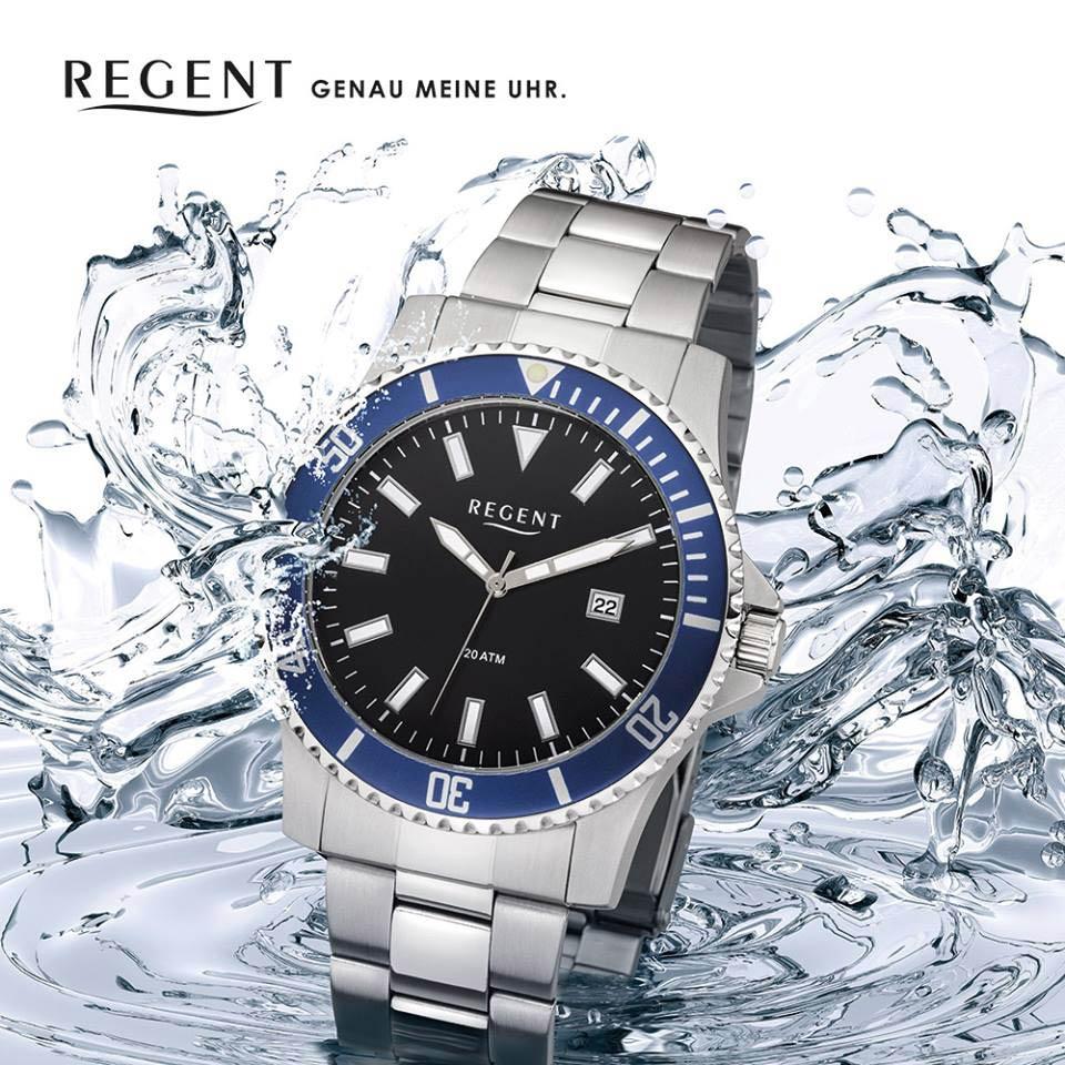 Wasserdichte Uhren Von Regent!