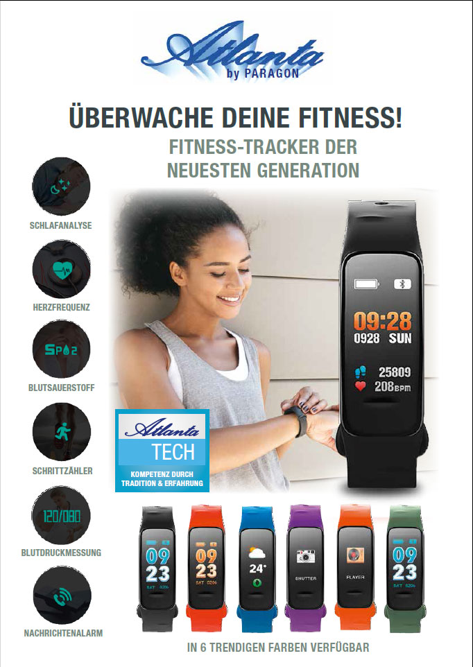 Atlanta Fitnesstracker Der Neuesten Generation