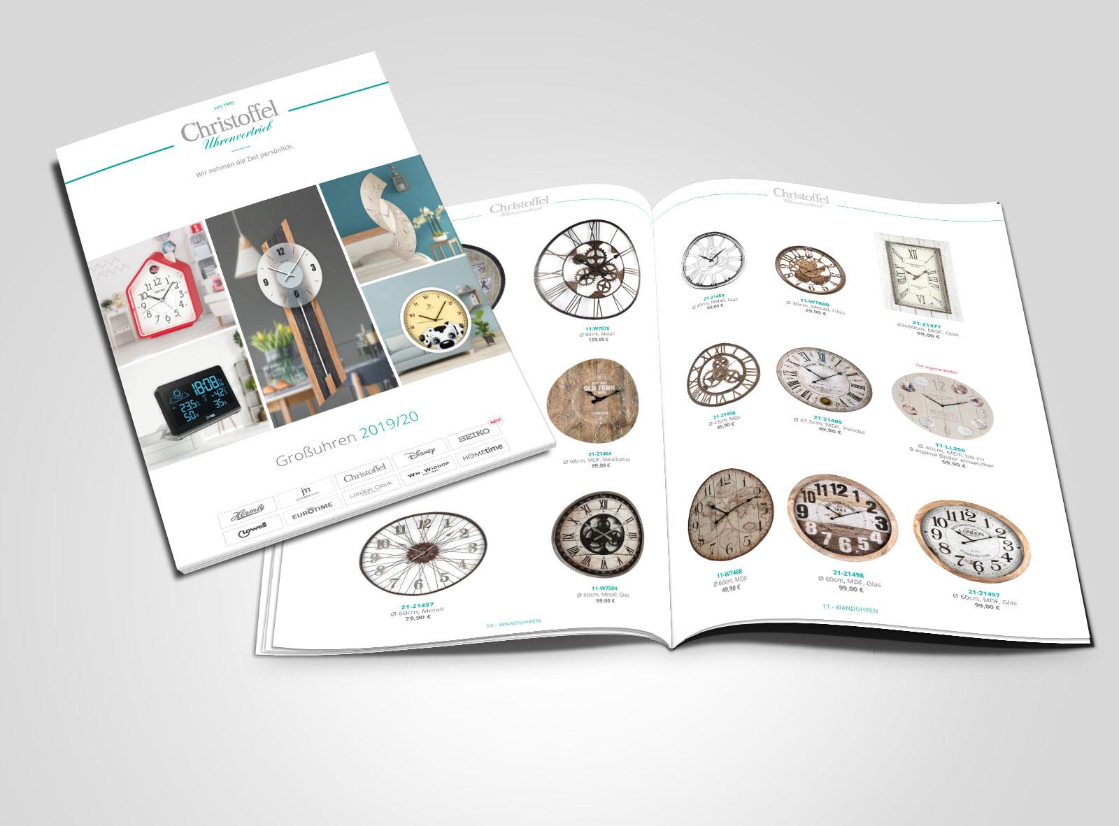 Brandneu: Großuhr-Katalog 2019/20