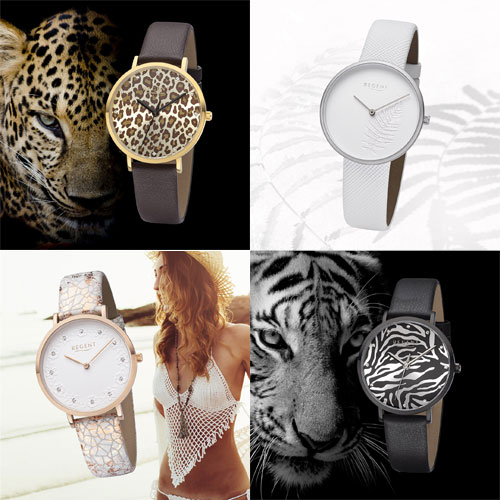 REGENT Animal Print & White Summer